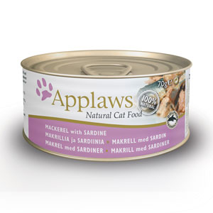 Applaws Cat Tin Mackeral & Sardine