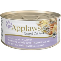 Applaws Cat Tin Mackerel & Sweetcorn