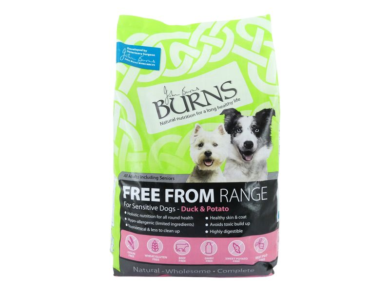 Burns Free From Duck & Potato (12kg)