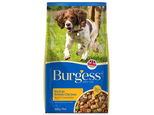 Burgess Adult Chicken (15kg)