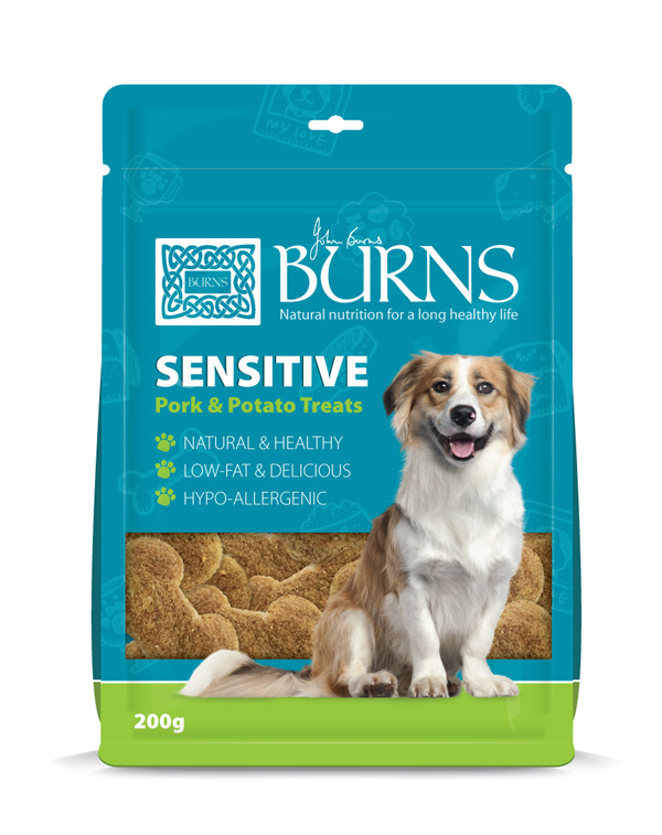 Burns Sensitive Treats (200g)