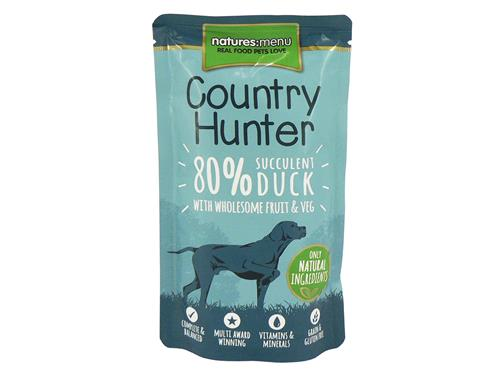 Natures Menu Country Hunter Duck Pouches
