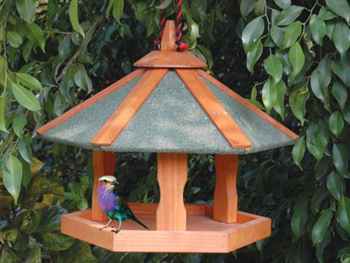 "HANGING BIRD TABLE 18""W X 16""H"