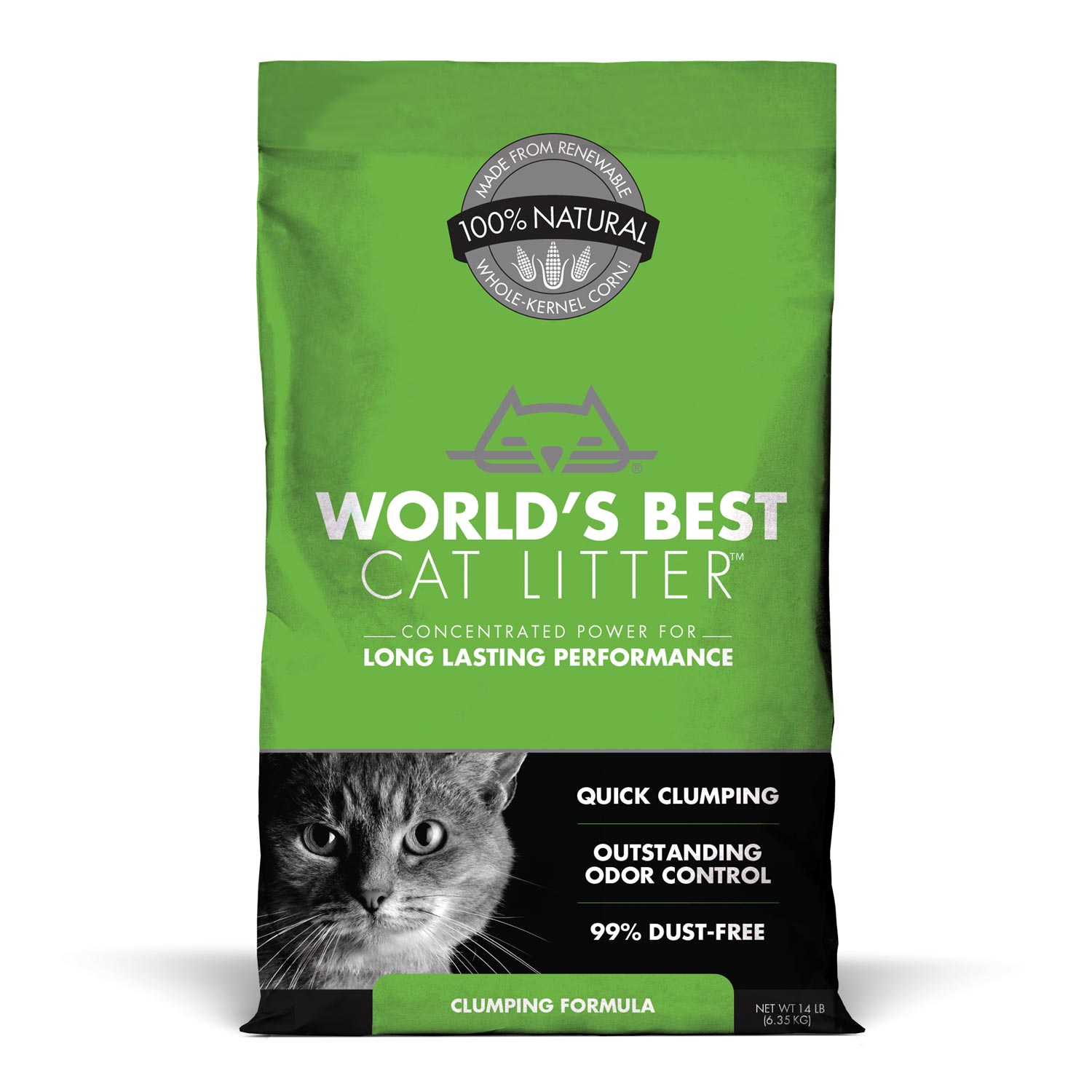 World's Best Clumping Cat Litter (12.7kg)