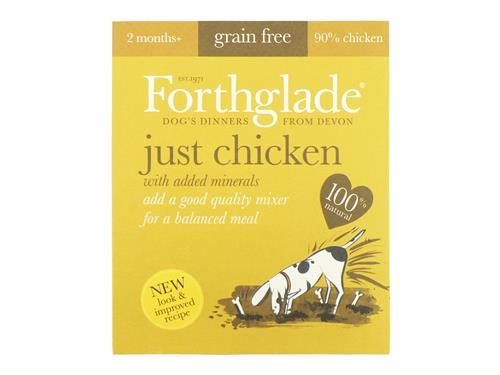 Forthglade Just Chicken (18x395g)