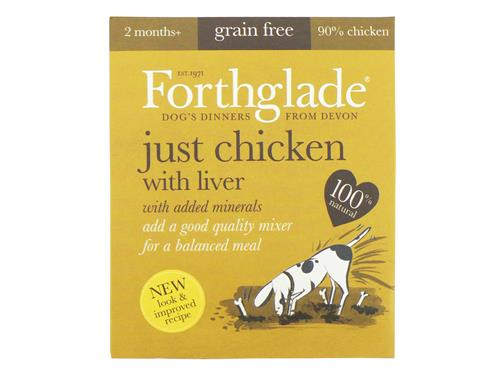 Forthglade Just Chicken & Liver (18x395g)
