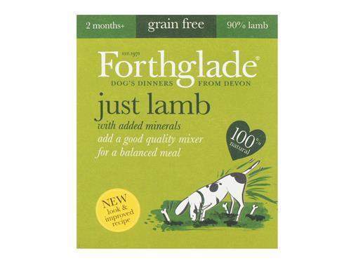 Forthglade Just Lamb (18x395g)