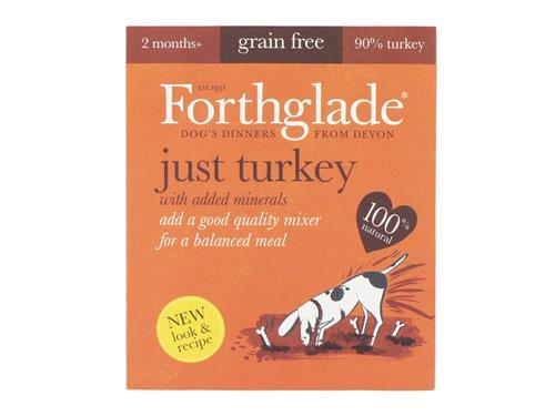 Forthglade Just Turkey (18x395g)