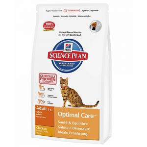 Hill's Cat Adult Optimal Care Chicken (10kg)