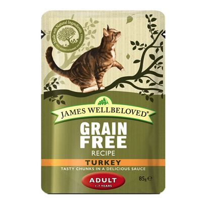 JW Cat Adult Pouch Turkey (48x85g)