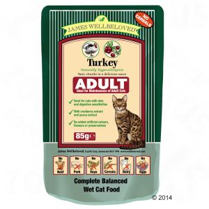 JW Cat Adult Pouch Turkey (12x85g)