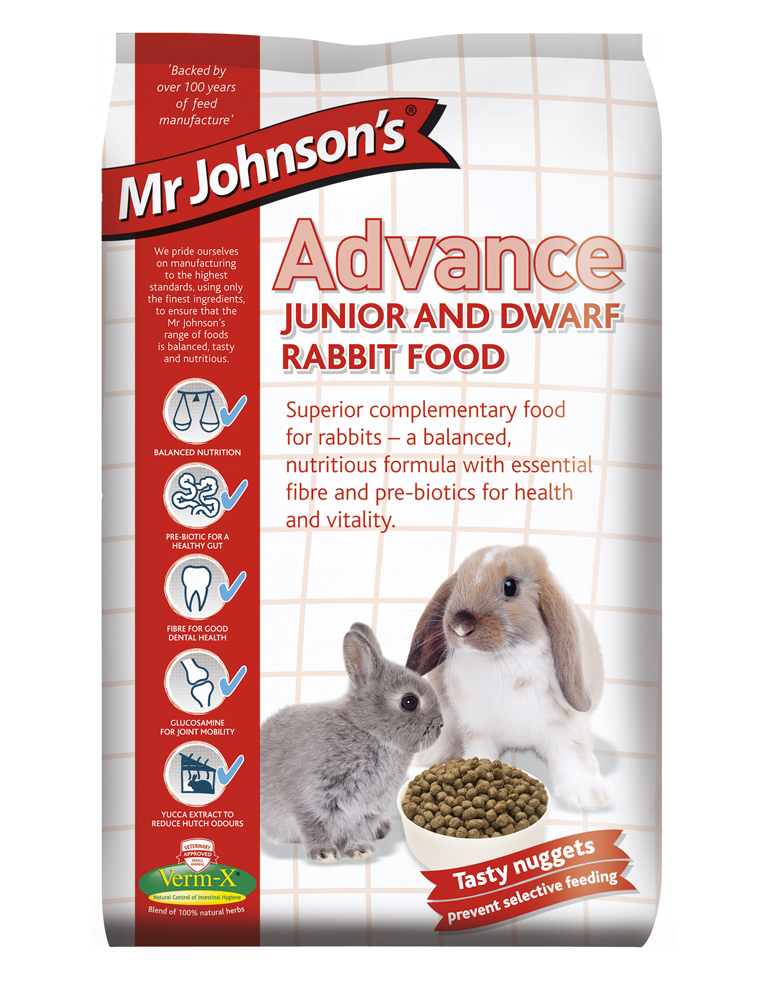 Mr Johnson Advance Jr & Dwarf Rabbit (1.5kg)