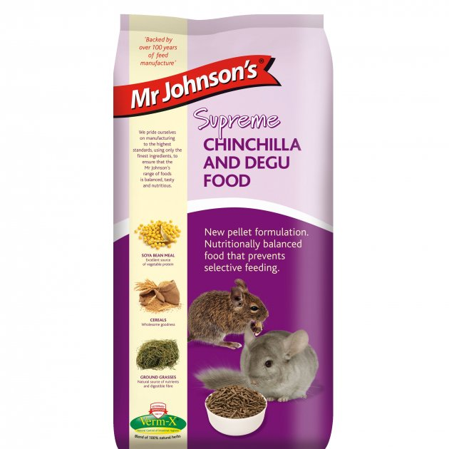Mr Johnson Chinchilla & Degu (900g)