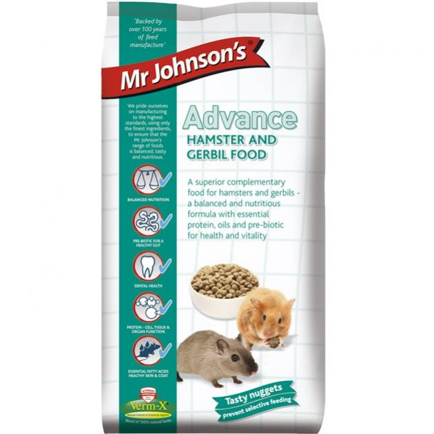 Mr Johnson Hamster & Gerbil (15kg)