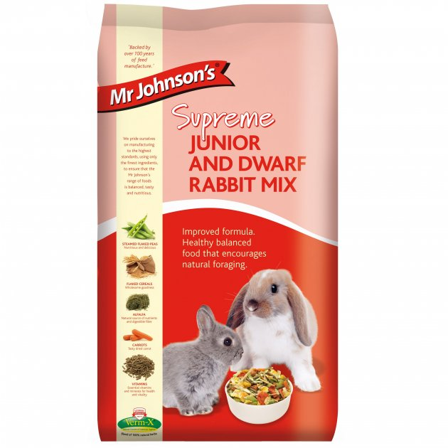 Mr Johnson Junior & Dwarf Rabbit (15kg)