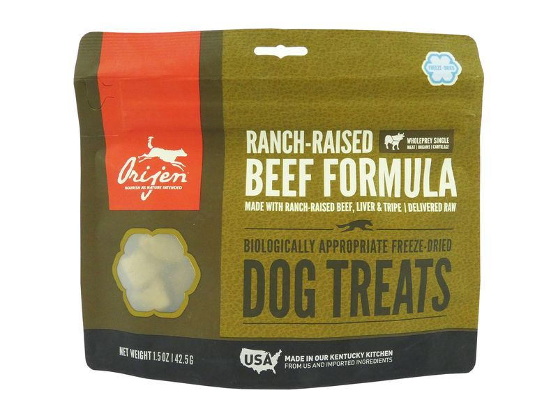 Orijen Dog Treats - Ranch Raised Beef