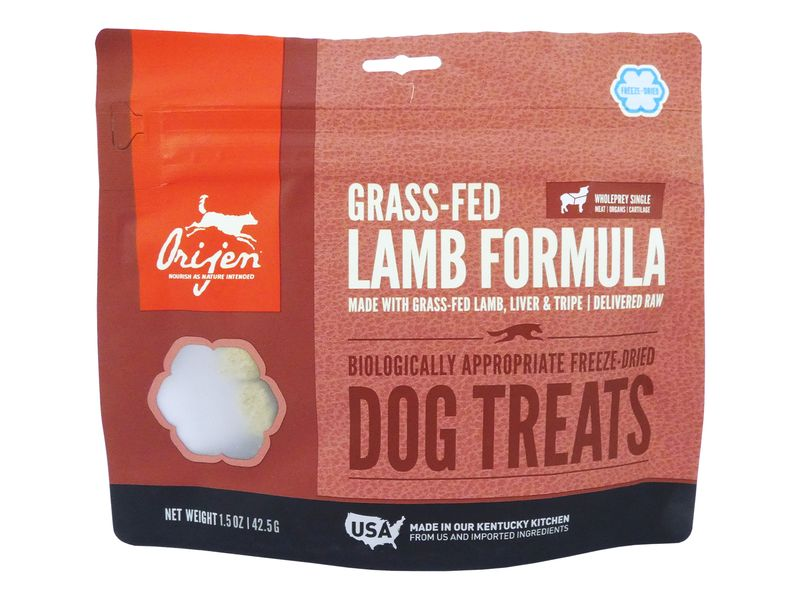 Orijen Dog Treats - Grass Fed Lamb