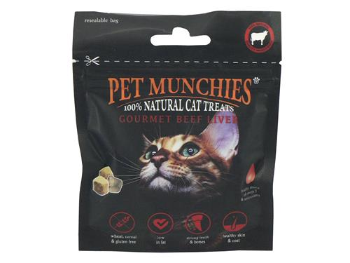 Pet Munchies Cat Treats Beef Liver
