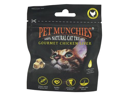 Pet Munchies Cat Treats Chicken Liver