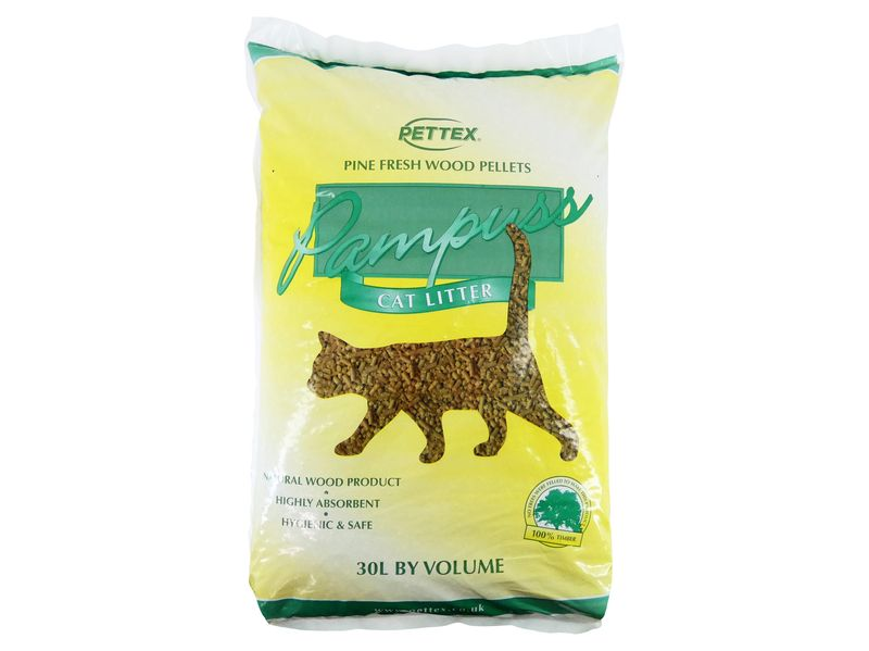 PamPuss Wood Litter (30ltr)