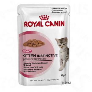 RC Kitten Instinctive in Gravy (12x85g)