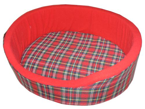"Red Tartan Bed (32"")"