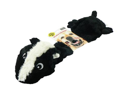 Shake 'A' Badger Soft Dog Toy