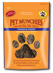 Pet Munchies Venison Strips