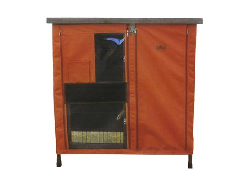 Cheeko Wooden Two Storey Hutch - COVER
