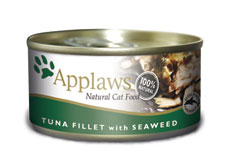 Applaws Cat Tin Tuna & Seaweed (12x156g)
