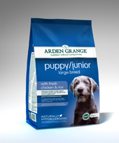 Arden Grange Puppy/Junior- Large (12kg)