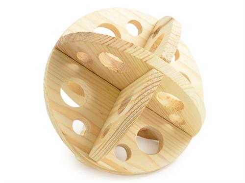 ROLL N CHEW SMALL ANIMAL WOODEN TOY