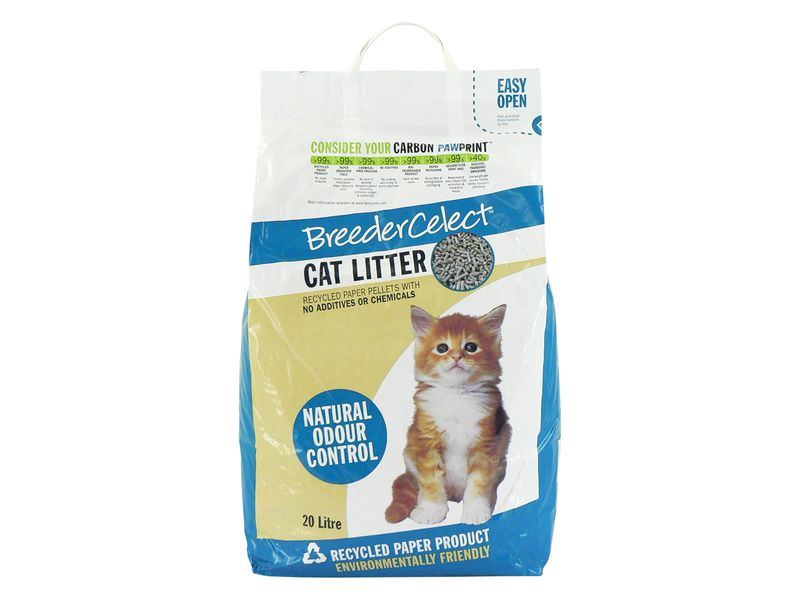 Breeder Celect Cat Litter (20ltr)