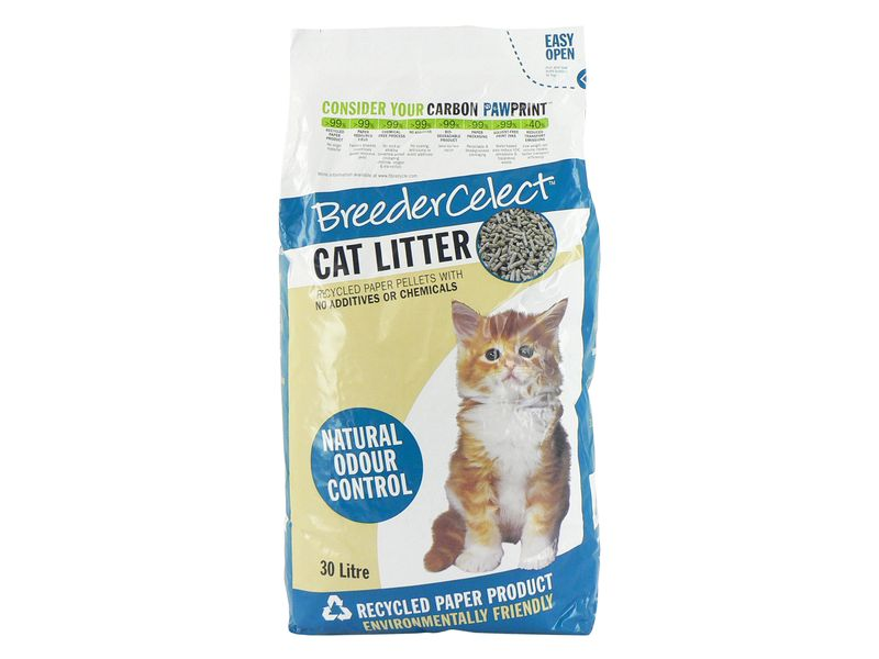 Breeder Celect Cat Litter (30ltr)
